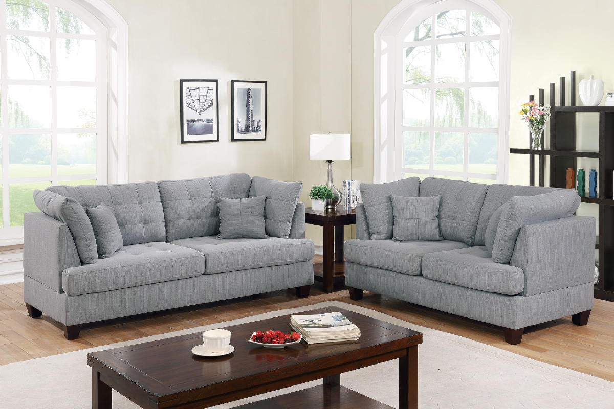 2-Pcs Sofa Set - F6401
