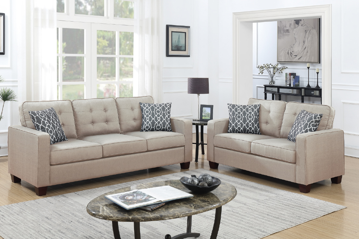 2-Pcs Sofa Set - F6409