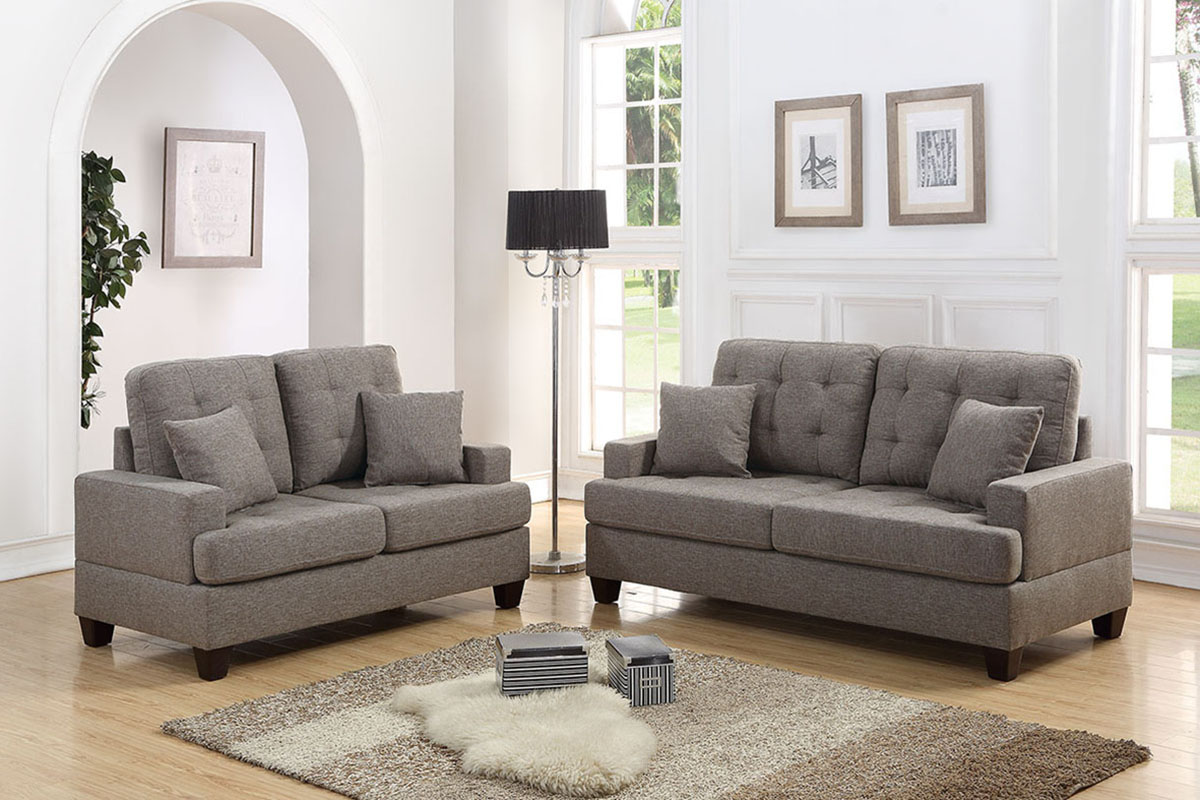 2-Pcs Sofa Set - F6501