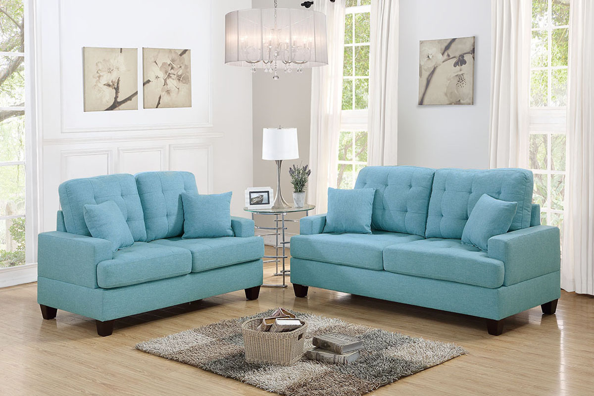 2-Pcs Sofa Set - F6502