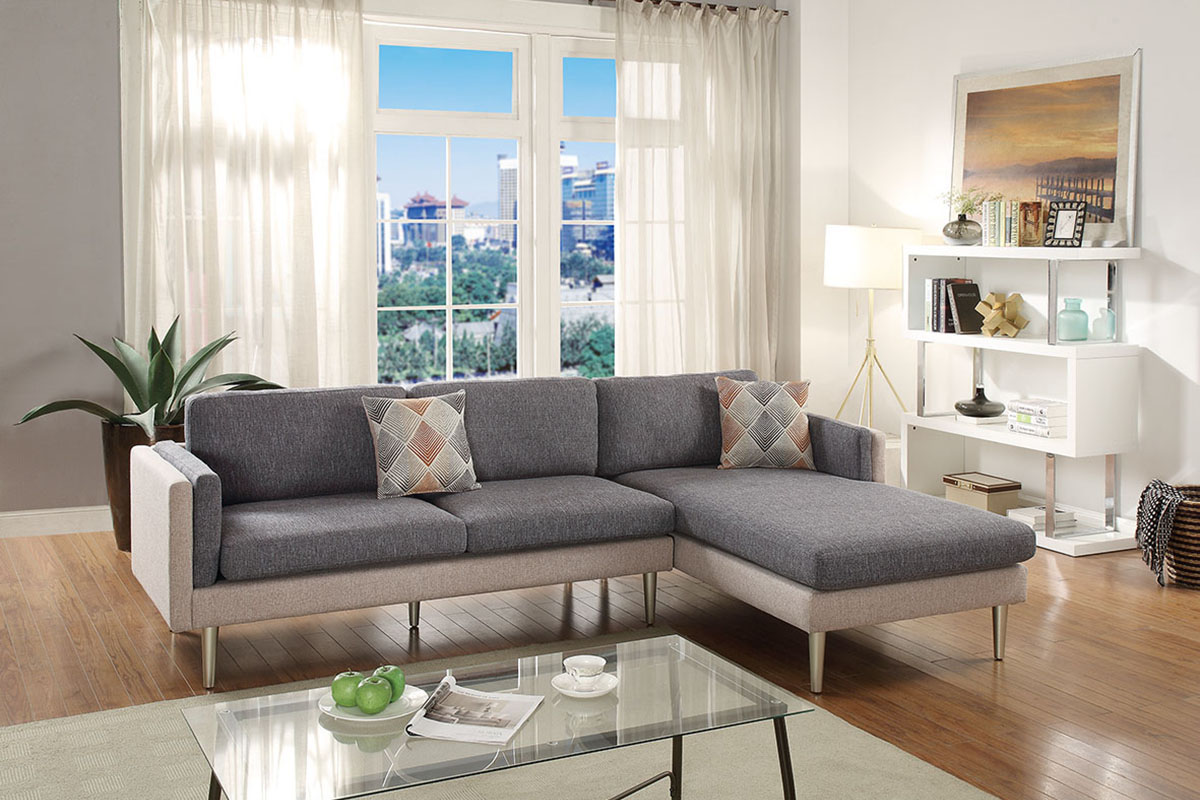 2-Pcs Sectional Sofa - F6551