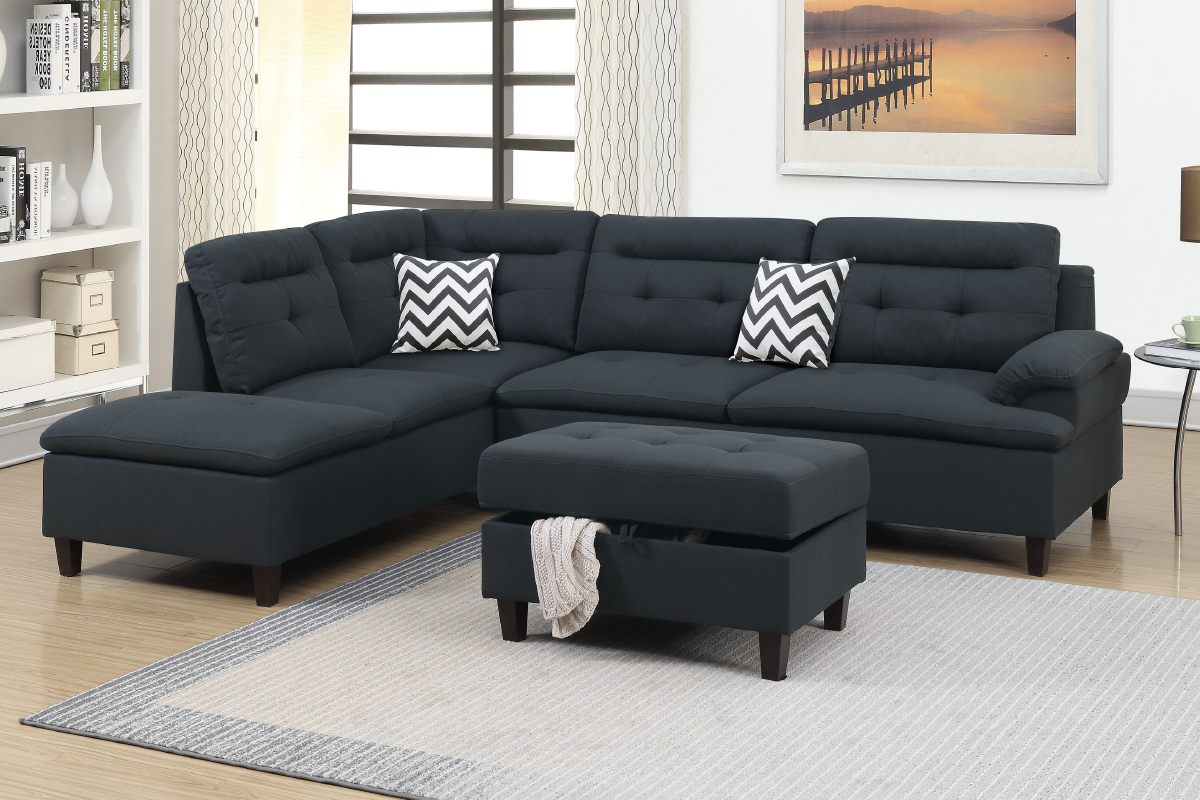 3-Pcs Sectional Set - F6588