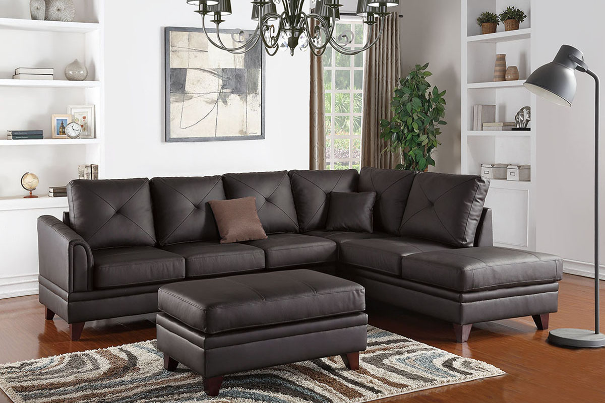 2-Pcs Sectional Sofa - F6874