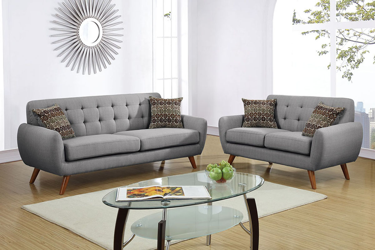 2-Pcs Sofa Set - F6912