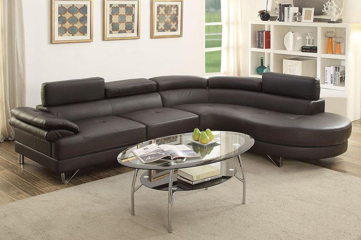 2-Pcs Sectional Sofa - F6969