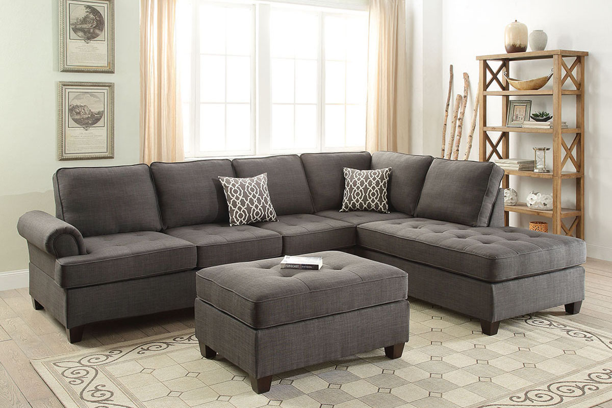 2-Pcs Sectional Sofa - F6990