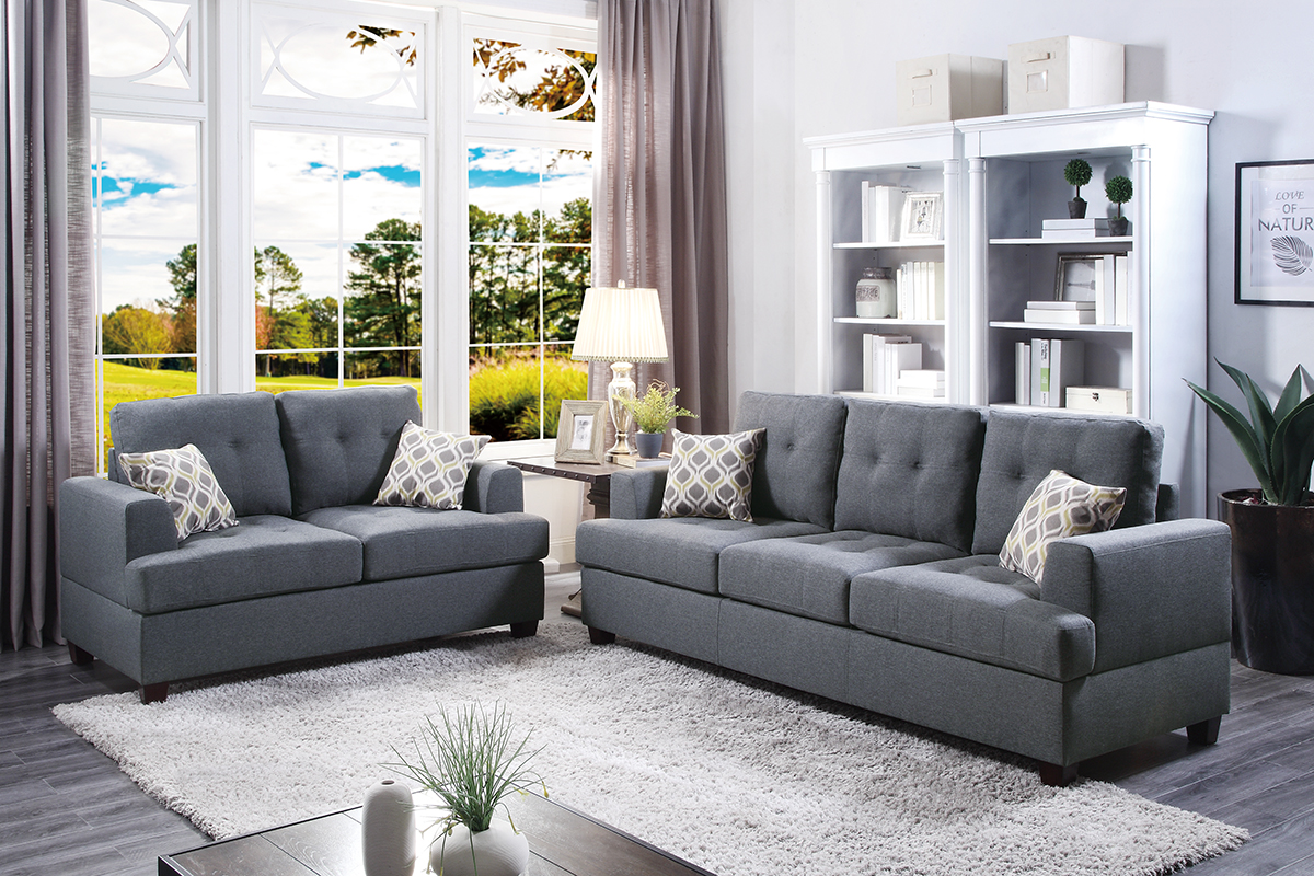 2-Pcs Sofa Set - F7600