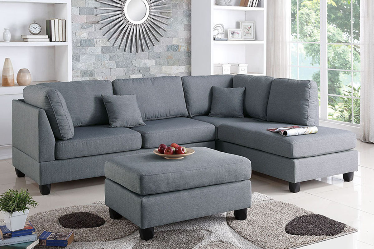 3-Pcs Sectional Set - F7606