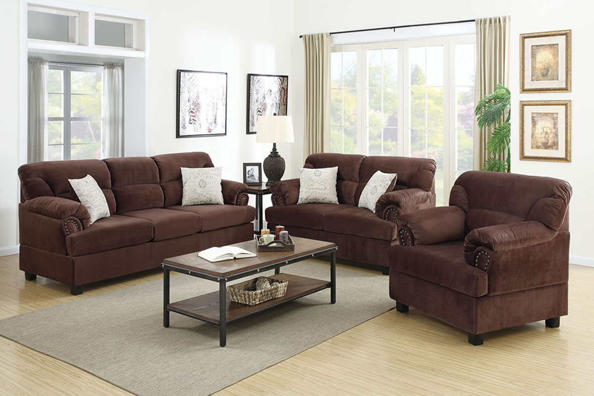 3-Pcs Sofa Set - F7915