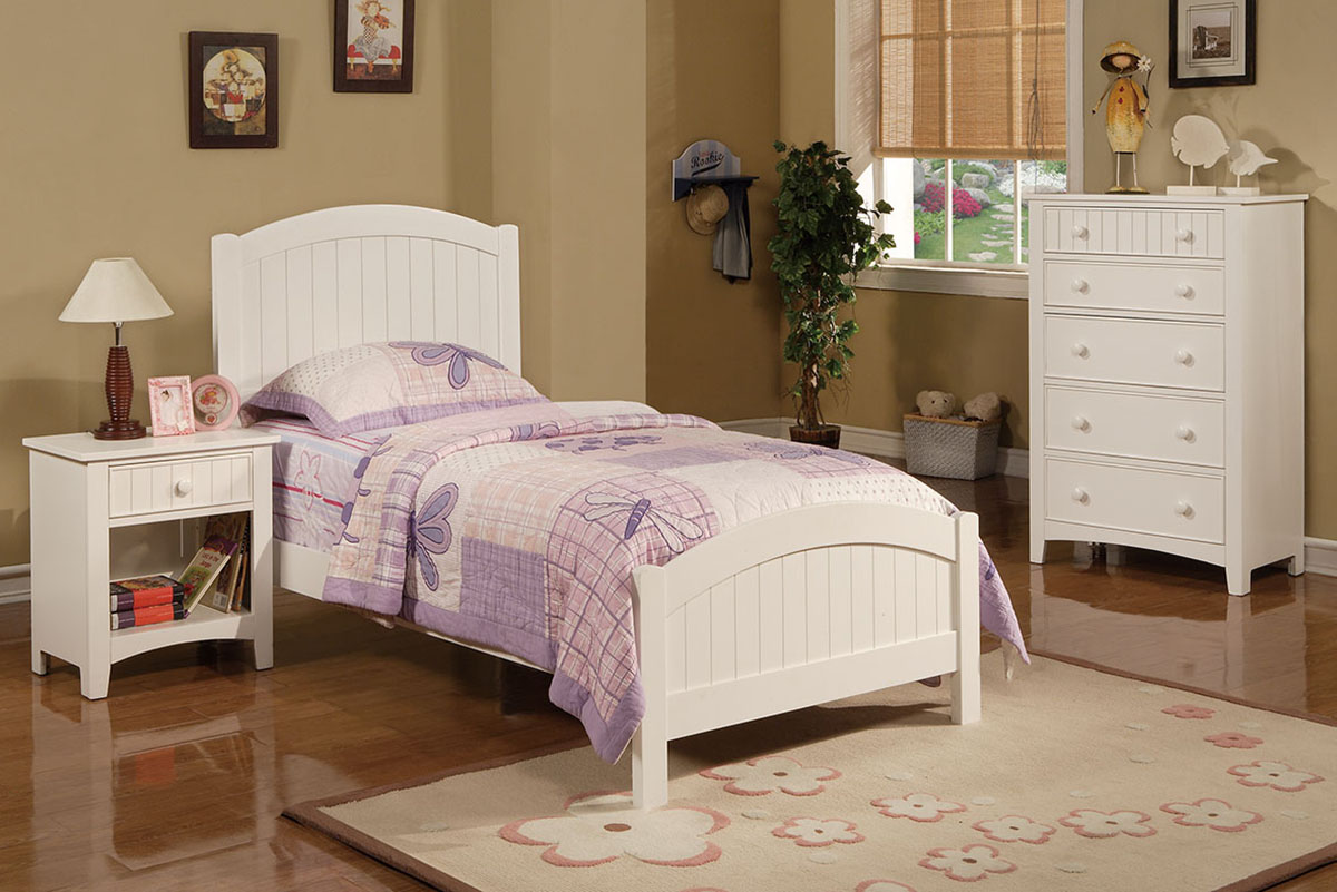Twin Size Bed - F9049